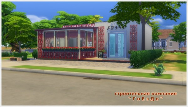 Sims 3 by Mulena: Patios restaurant