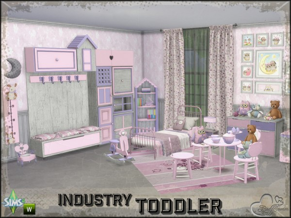 The Sims Resource Toddler Room Industry By Buffsumm