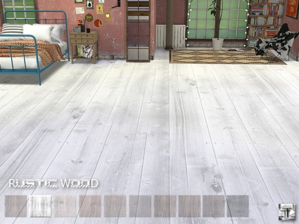 The Sims Resource: Rustic Wood Floors by .Torque