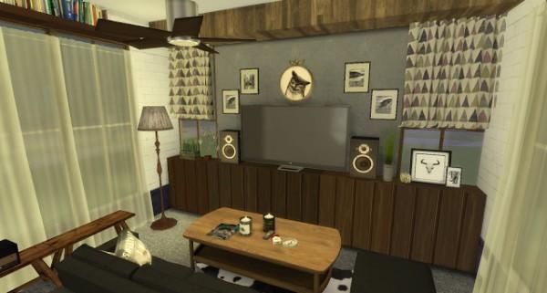 Pandashtproductions: Rosalita house