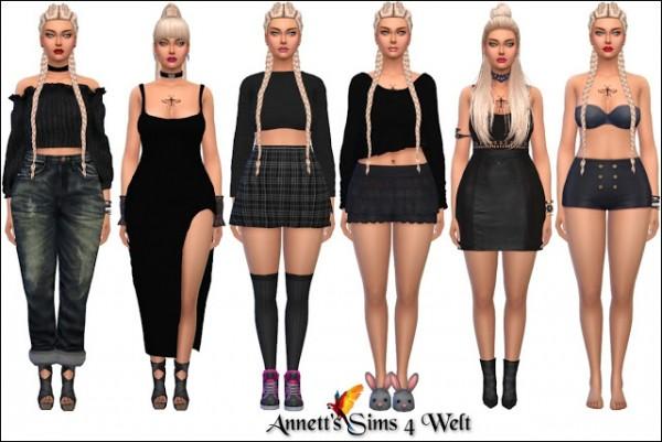 Annett`s Sims 4 Welt: Model Maja Maggie