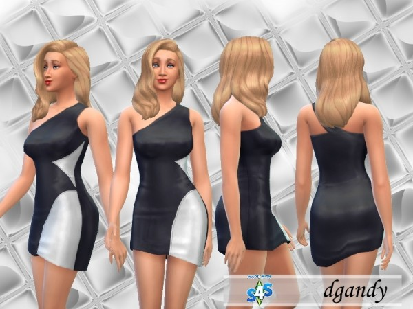The Sims Resource: Cocktail Dress Color Swatch by dgandy