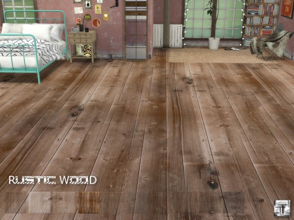 The Sims Resource Rustic Wood Floors By Torque Sims 4