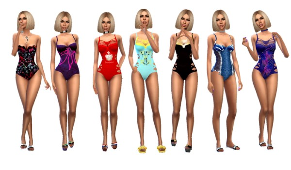 Dreaming 4 Sims: Spring swimsuits