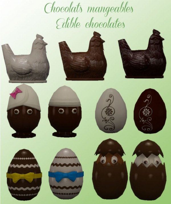 Sims Artists: Happy Easter