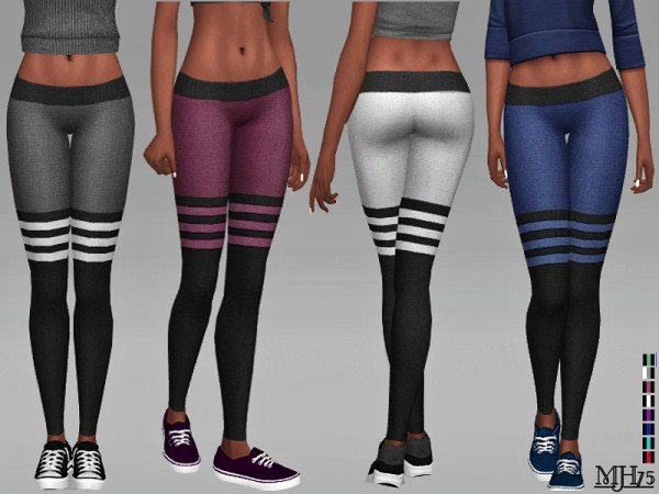The Sims Resource: Active Wear Yoga Pants by Margeh 75