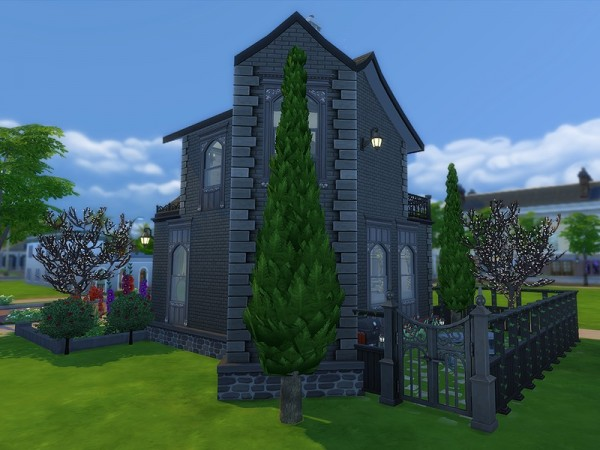 The Sims Resource: Gothic Cottage by Ineliz