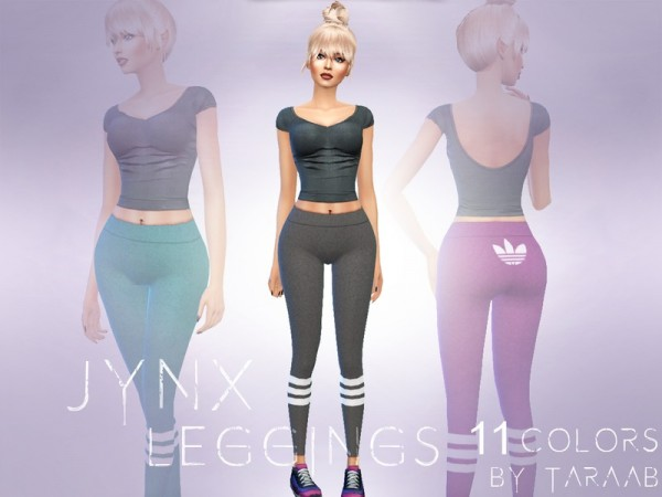 The Sims Resource: Jynx Leggings by taraab