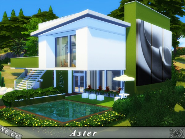 The Sims Resource: Aster house by Danuta720