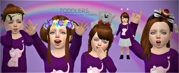 Jenni Sims: Hea accessories Set for toddlers