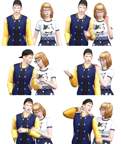 Rinvalee: Couple Poses 04