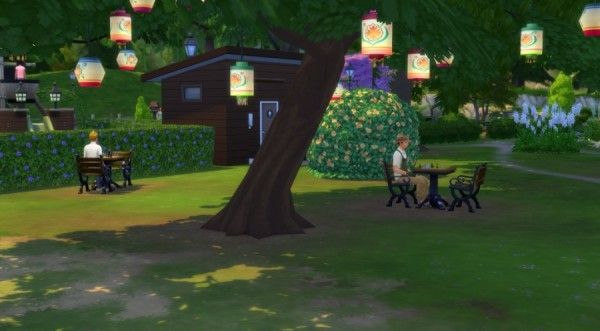 Sims Artists: The park of delights