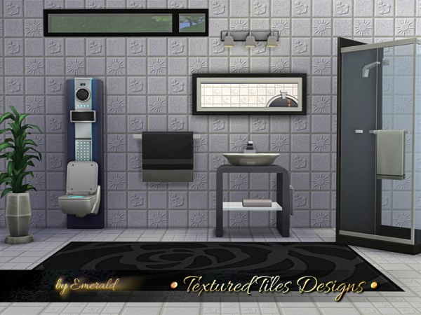 The Sims Resource: Textured Tiles Designs by emerald