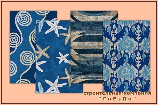 Sims 3 by Mulena: Carpets Sea Breeze