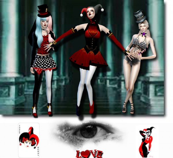Les Sims 4 Passion: Harley Quinn • Sims 4 Downloads