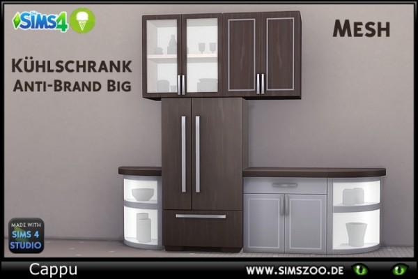 Blackys Sims 4 Zoo: Anti Brand big fridge by Cappu