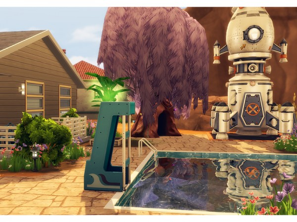 The Sims Resource: Raffia Quinta Remade by Degera