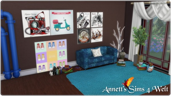 Annett`s Sims 4 Welt: Modern Painting