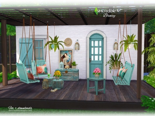 The Sims Resource Breezy By Simcredible Sims 4 Downloads