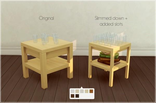 Allisas: Tabula Rasa End Table   Slimmed down