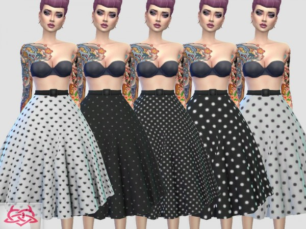 The Sims Resource: Vintage Basic skirt recolor 3