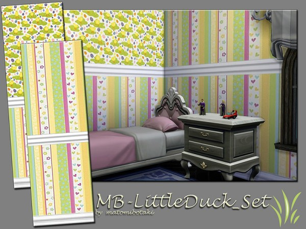 The Sims Resource: Little Duck Set by matomibotaki