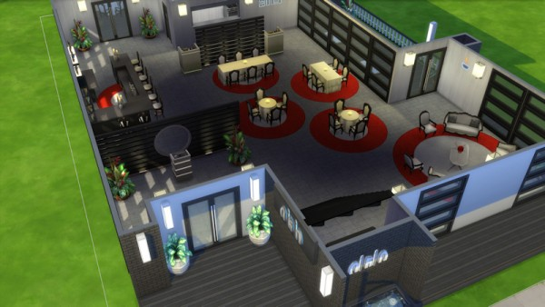 La Luna Rossa Sims: Dine Out Restaurant