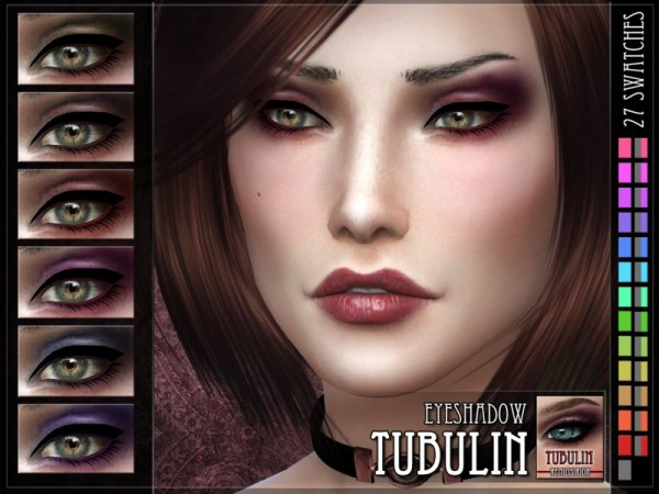 The Sims Resource: Tubulin Eyeshadow by RemusSirion