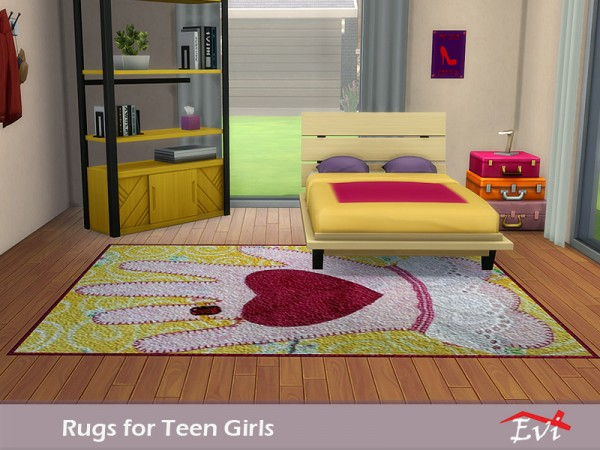 The Sims Resource: Rugs for Teen Girls by evi