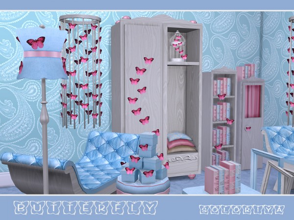The Sims Resource: Butterflies by soloriya