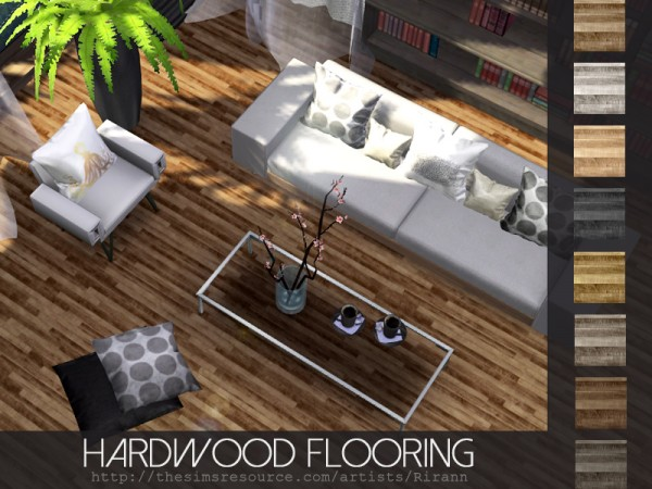 The Sims Resource: Hardwood Flooring by Rirann