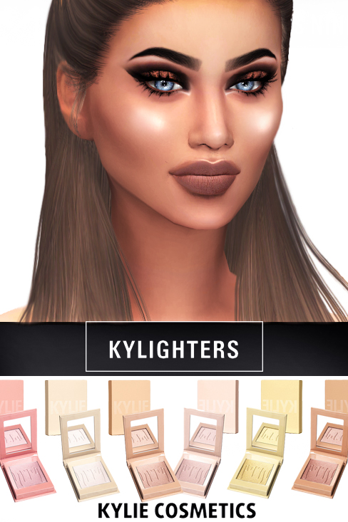 Kenzar Sims: Cosmetics Kylighters