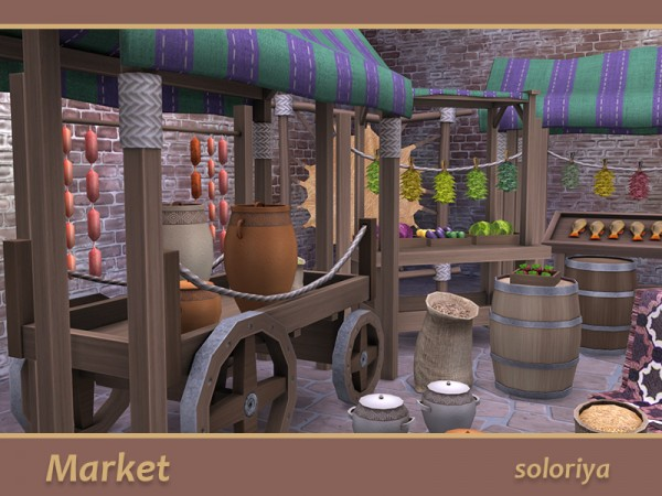 The Sims Resource: Market by soloriya