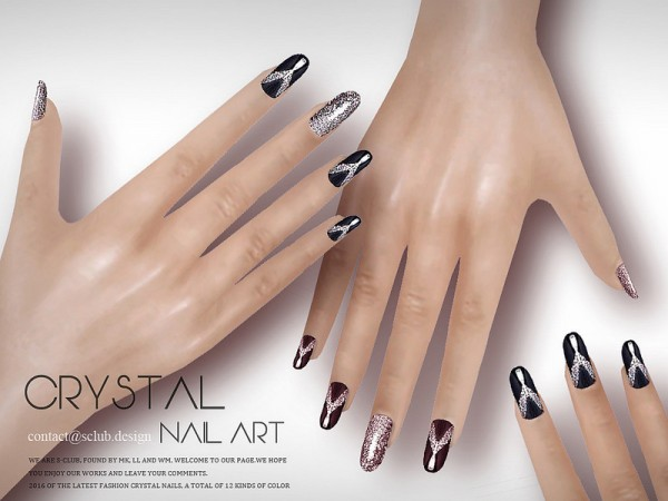 The Sims Resource: Nail Art N08 by S Club