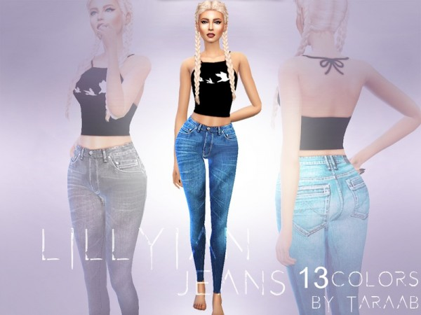 The Sims Resource: Lillyian Jeans by taraab