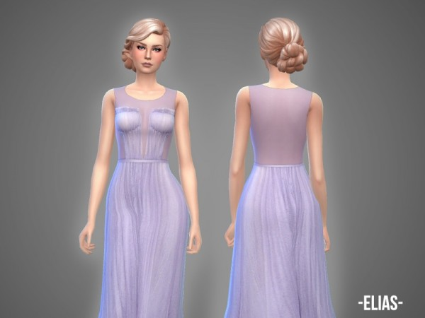The Sims Resource: Elias   gown by April