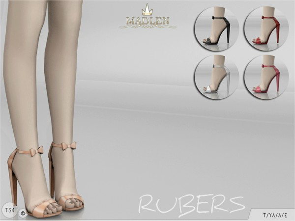 The Sims Resource Madlen Rubers Shoes By Mj95 Sims 4