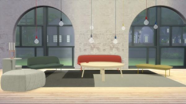 Muuto E27 Hanglamp : Meinkatz creations e pendant lamp by muuto u sims downloads