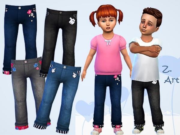 The Sims Resource: BabeZ. 14 jeans by Zuckerschnute20