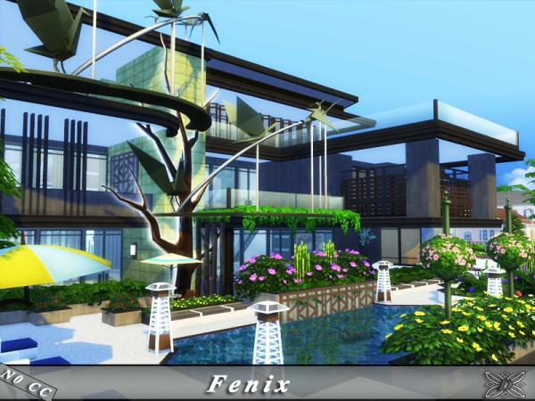 The Sims Resource: Fenix house by Danuta720