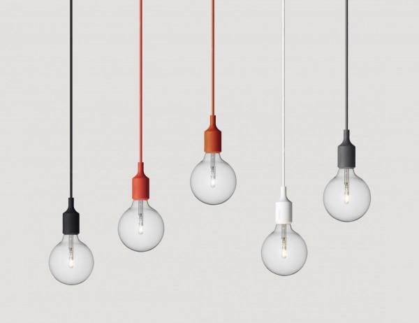 Meinkatz Creations: E27 Pendant Lamp by Muuto