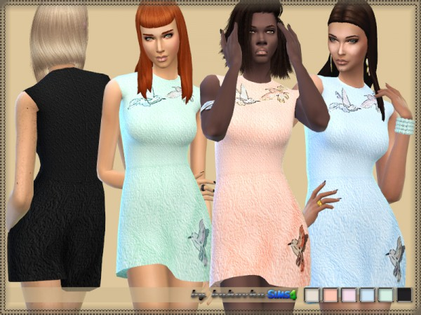 The Sims Resource: Dress Birds by bukovka