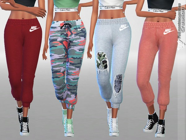 The Sims Resource: Track Pants Pack by Pinkzombiecupcakes