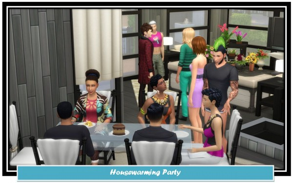 Mod The Sims: Housewarming Party by LittleMsSam