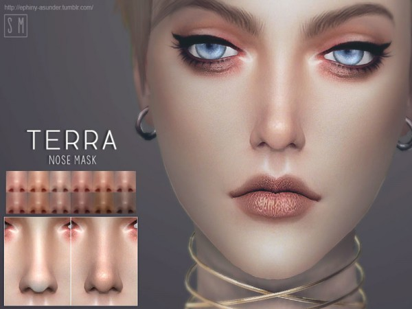 The Sims Resource: Terra   Nose Mask by Screaming Mustard