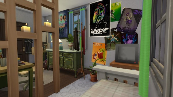 Mod The Sims: Suburban House No CC by Kompaktive