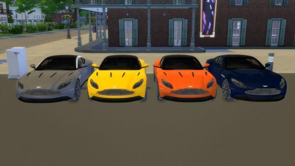 Lory Sims: Aston Martin DB11