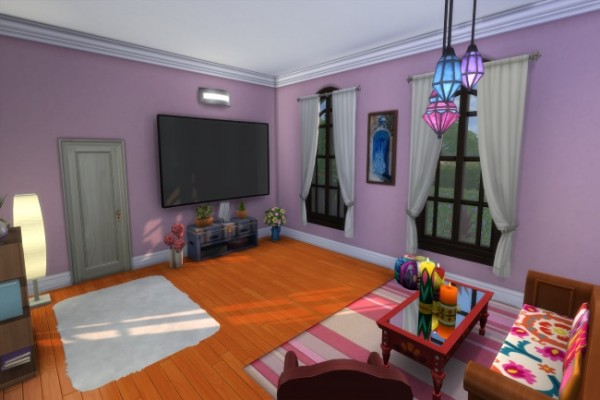 Blackys Sims 4 Zoo: More generations house by Commari