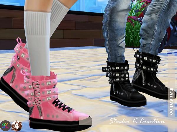 Studio K Creation: Backle Sneakers