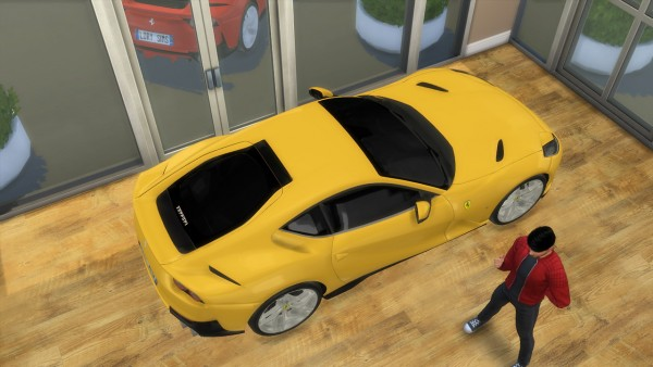 Lory Sims: Ferrari 812 Superfast
